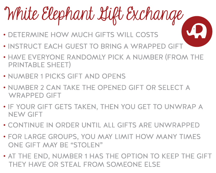 How to Play White Elephant Gift ... - How Do You Play Games