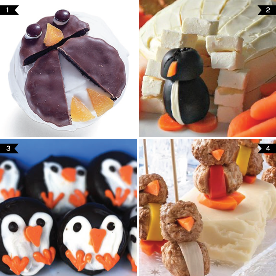 penguin party food