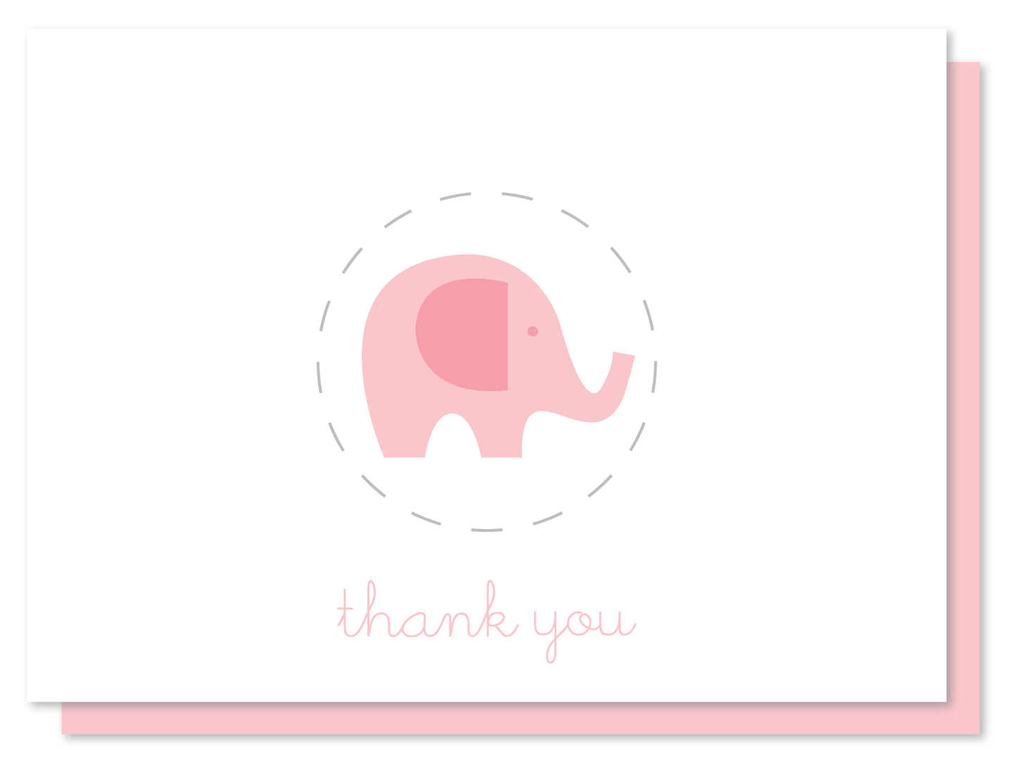 Lovely baby thank you cards, baby note cards | madebycristinamarie.com ZW05